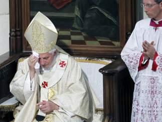 Benedicto XVI, en La Almudena