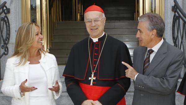Jauregui y Jiménez, junto a Bertone