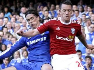Fernando Torres en el Chelsea - West Bromwich
