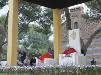 El papa, en el acto con enfermos y discapacitados