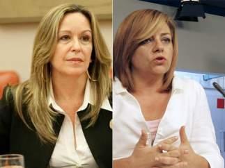 Elena Valenciano y Trinidad Jiménez