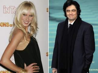 Kimberly Stewart y Benicio del Toro
