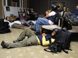 Periodistas retenidos en Libia