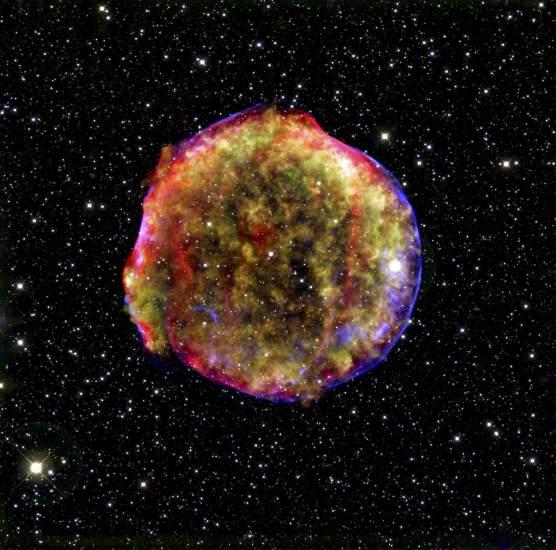 Dentro de una semana se podrá ver desde la Tierra con prismáticos una supernova. 30020-556-550