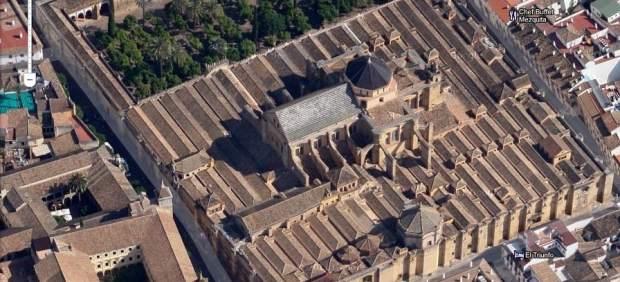 Google Maps estrena en España sus imágenes en 45 grados con la Mezquita de Córdoba