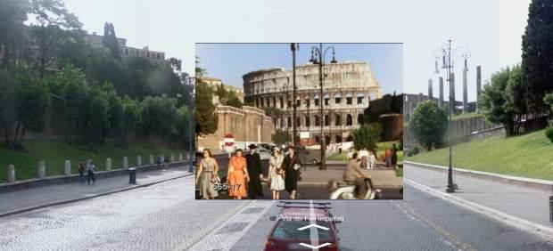 Una herramienta permite ver vídeos históricos sobre imágenes actuales de Google Street View