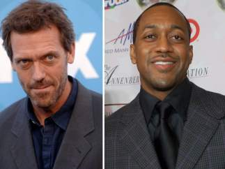 Hugh Laurie y Jaleel White