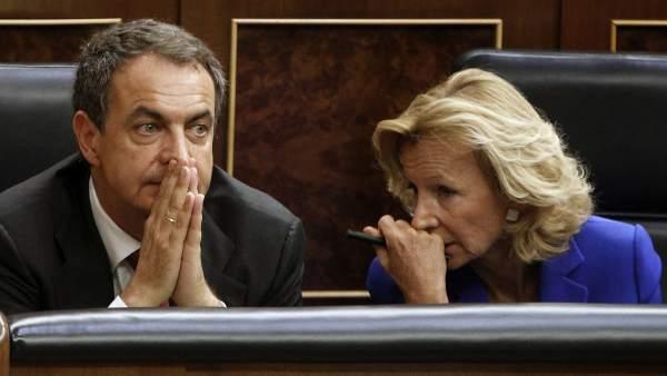 Zapatero y Salgado
