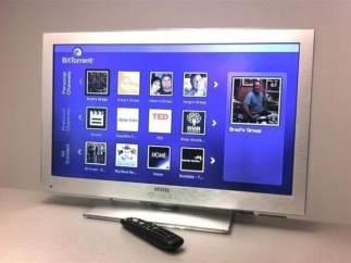 Televisor con BitTorrent