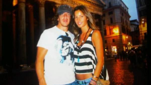 Puyol y Malena Costa