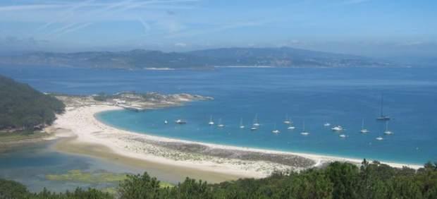 Rodas, en las islas Cíes