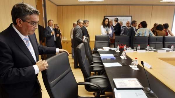 El conseller de Hacienda y Administración Pública, Jose Manuel Vela