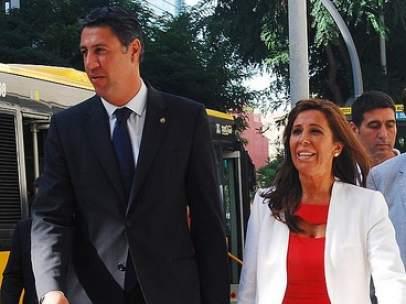 Xavier Garc�a Albiol y Alicia S�nchez Camacho.