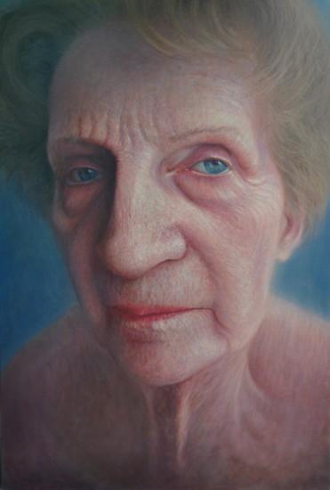 Video desnudo de una anciana