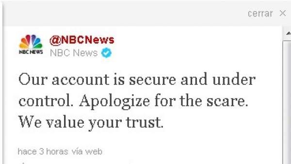 Twitter de NBC