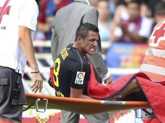 Alexis Sánchez lesionado