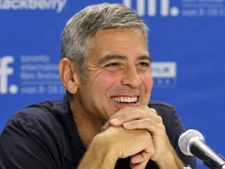 George Clooney en Toronto