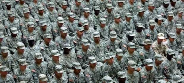 Soldados de EE UU en Irak