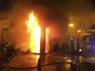 Incendio con un muerto en Colmenar Viejo