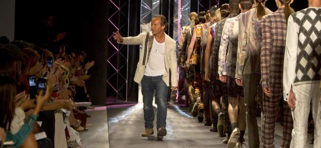 Custo en la Semana de la Moda de Nueva York