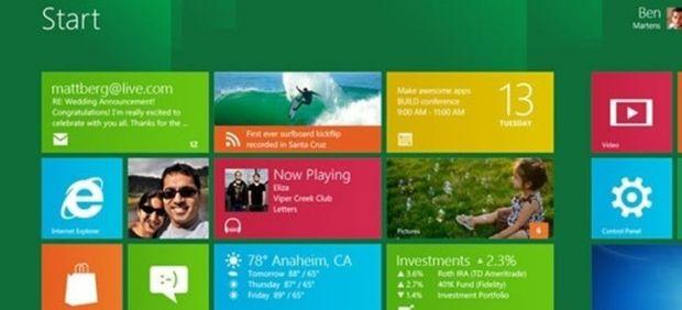 Microsoft reimagina su sistema operativo gracias al Windows 8