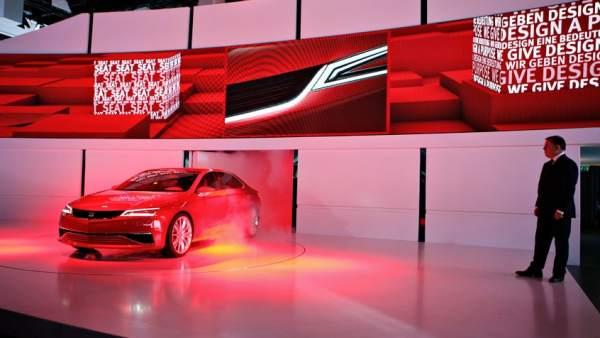 Presentación del Seat IBL en el Salón de Frankfurt 2011