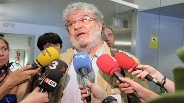 El secretario general del sindicato Metges de Catalunya (MC), Antoni Gallego.el secretario general del sindicato Metges de Catalunya (MC), Antoni Gallego.