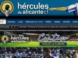 Página web del Hércules
