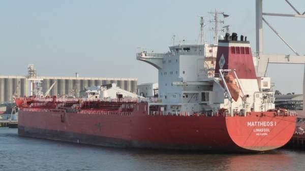 Mattheos I, el barco secuestrado en Togo