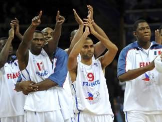 La selección francesa de baloncesto