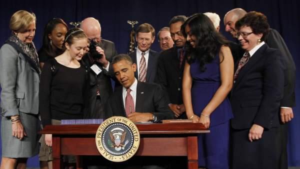 Barack Obama y 'EE UU Inventa'