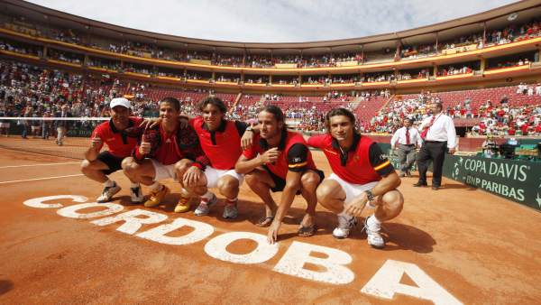 El equipo de Copa Davis español