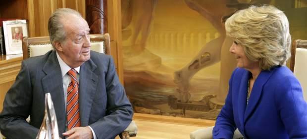El Rey se reúne con Aguirre