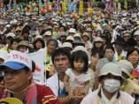 Protesta antinuclear en Tokio