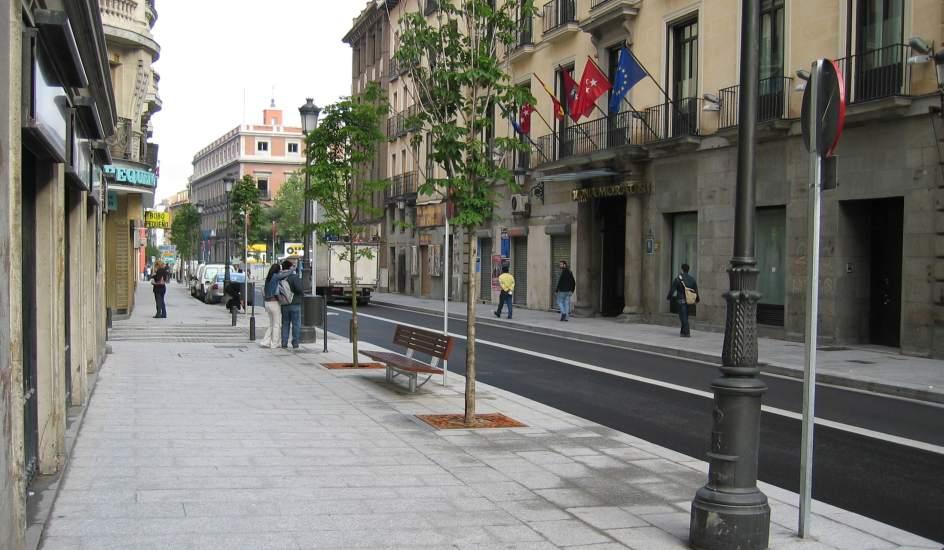 Madrid retoma el proyecto de reforma de la calle atocha for Oficina de empleo atocha