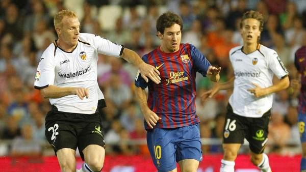 Messi, ante Valencia