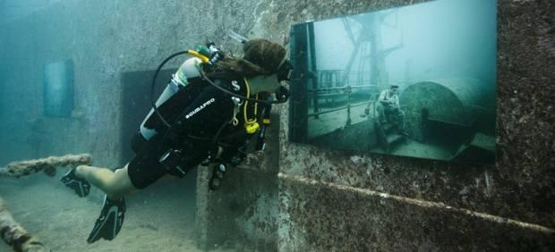 La exposici�n submarina del Vandenberg