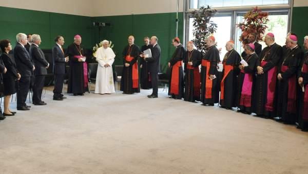 El papa Benedicto XVI en Berlín