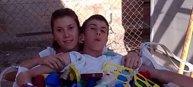 Javier, uno de los chicos con Ataxia-telangiectasia