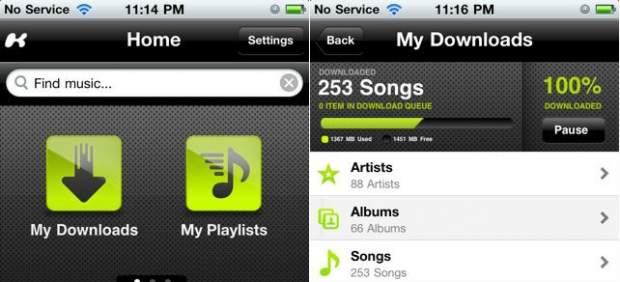 Kazaa resucita en forma de aplicación de música por 'streaming' para iOS
