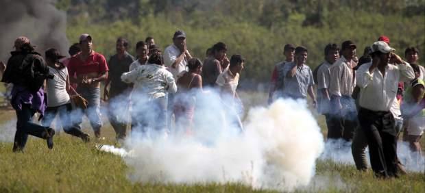 Gases lacrimogenos