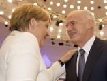 Merkel y Papandreu