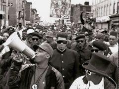 Public Enemy y Spike Lee, Brooklyn, 1989