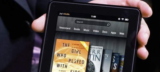 Amazon desvela su tableta Kindle Fire con la que busca competir con el iPad