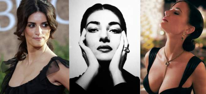 Pen�lope Cruz, Mar�a Callas y Eva Green