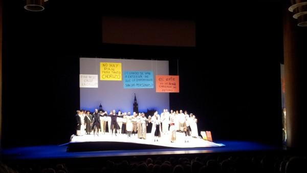 El 15-M en la ópera