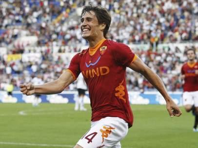 Gol de Bojan con la Roma