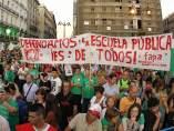 Protesta de educación