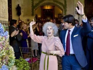 Fran Rivera y la duquesa de Alba