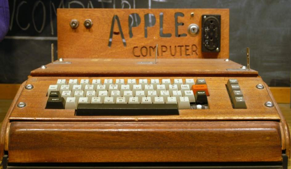 Apple I. Apple I expuesto en el Smithsonian Institution.